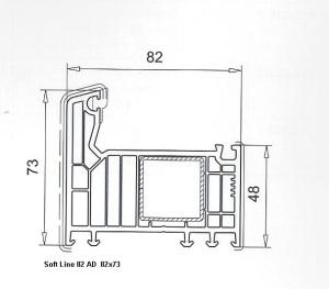 Soft Line 82  AD 82x73 Rahmen